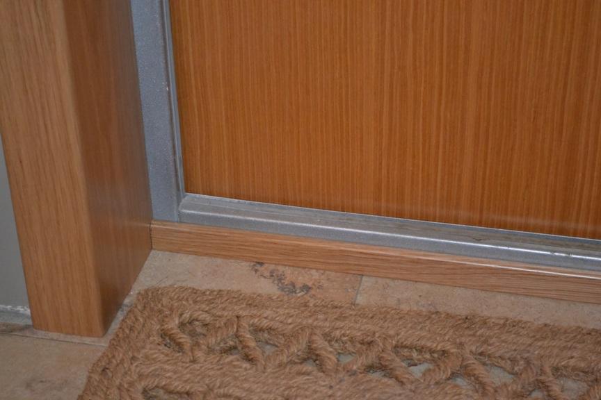 Порог входной двери своими руками 56