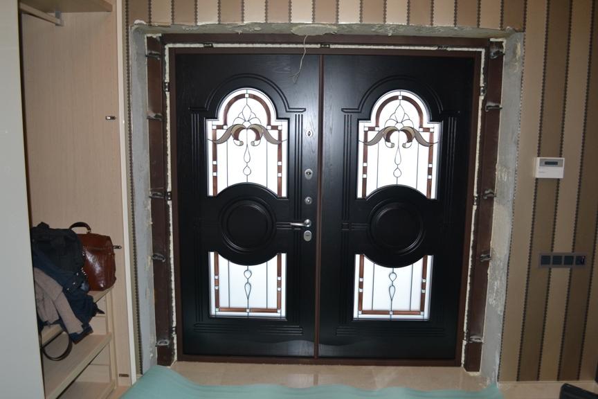 входная дверь нестандартного
