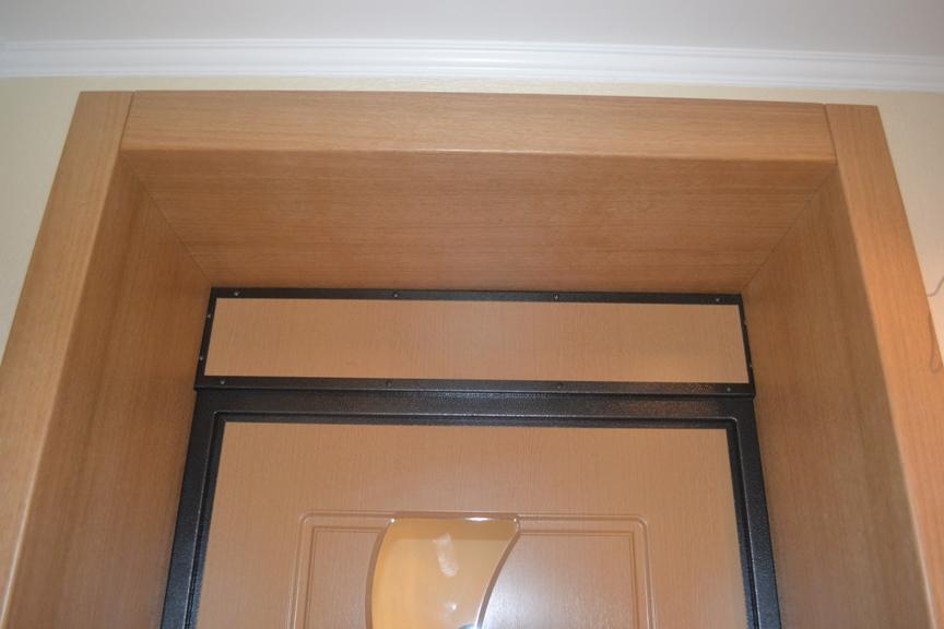 Обшивка межкомнатных дверей ламинатом своими руками 69