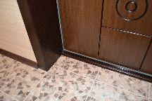 Откосы для входной двери с порогом