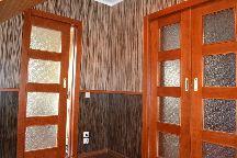 Стеновые панели, потолочные панели, натуралььный шпон, пеналы для раздвижных дверей, раздвижные одностворчатые двери