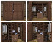 Дизайн проект встраиваемого шкафа